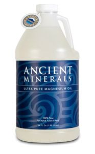 ANCIENT MINERALS MAGNESIUM OIL: The No.1 Most Recommended Magnesium Oil! Rapidly Absorbed Into The Skin. Easy Application In A Convenient Spray. Efficient Delivery Method To Help Magnesium Levels. Ultra-Pure And Highly Concentrated. Approximately 560mg Elemental Magnesium Per Tsp. Available In 8oz (237ml) Spray And 64oz (1.9L) Professional Size.  #ancientminerals #magnesiumoil