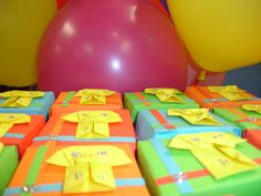 A 21st Birthday In Spring: Origami Elephant Party Favor Boxes