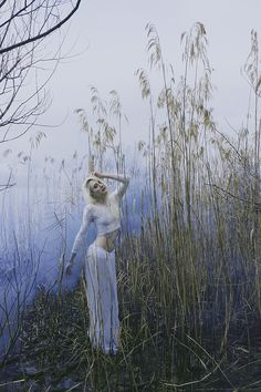 """Violet and White"" — Photographer: Michele Maglio – Mic Photo Model: Gin Assistant: Il Fabiuz"