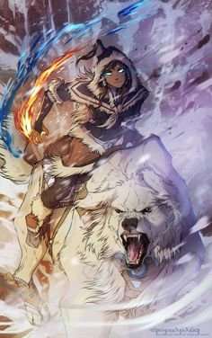 Avatar Korra by AgentWhiteHawk.deviantart.com on @deviantART