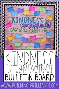 Encourage a classroom community built on kindness with this interactive bulletin board! Students can catch act of kindness and anonymously write about it for this board. Watch your classroom culture make a shift as students focus on the positive things happening around them!  #Classroom Kindness #ClassroomDecor #BulletinBoard #ClassroomManagement Classroom Freebies, High School Classroom, Classroom Bulletin Boards, Classroom Decor, Ela Classroom, Future Classroom, Classroom Organization, Classroom Management, Behavior Management