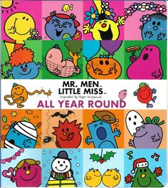 Keep yourself organized and entertained all year round with this Mr. Men Little Miss spiral-bound book! Figure out your weekend plans and make your summer. Little Miss Books, Mr Men Little Miss, Vacation Wishes, Little Miss Sunshine, All Year Round, Bound Book, Activity Games, Book Nooks, Vintage Designs