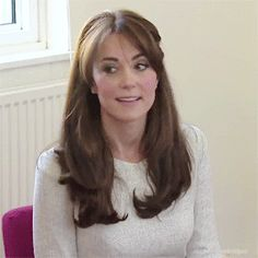 HRH CATHERINE, DUCHESS OF CAMBRIDGE, COUNTESS OF STRATHEARN and BARONESS CARRICKFERGUS  - (SOOOO much love/hate right now! *G* THAT HAIR!)