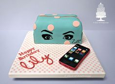 'Zoella' themed Cake - Cake by Angela - A Slice of Happiness