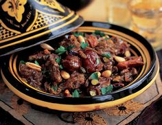 Moroccan recipe: Lamb Tajine with vegetables and prunes
