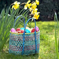 Upcycled Easter Egg Baskets from Nom Living, available through Not onThe High Street