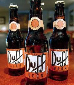 I would love a Duff beer. One of these days...