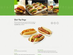 Shake Shack #Website by #BigSpaceship, via #Behance