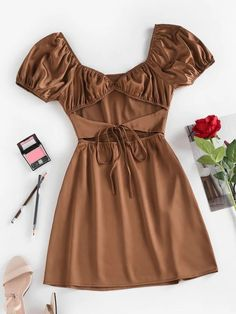 Trendy Outfits, Trendy Fashion, Cute Outfits, Style Fashion, Types Of Sleeves, Dresses With Sleeves, Short Sleeves, Romper With Skirt, Cute Clothes For Women
