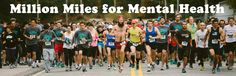 Our goal is to invite individuals and groups to join together as a global community to complete one million miles of physical activity during the month of May, and to engage in a huge cause: their mental health. Runners Motivation, Race Bibs, Race Day, Mental Health Awareness, Physical Activities, Racing, Mood, Running, Auto Racing