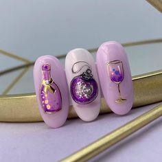 Christmas Nails, Gel Nails, Nail Designs, Gemstone Rings, Nail Art, Gemstones, Beauty, Jewelry, Christmas Nail Designs