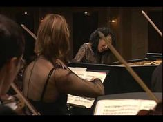 Mitsuko Uchida performs Mozart's Piano Concerto #20- Romanze - YouTube