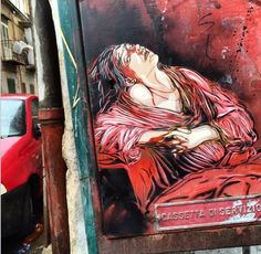 by C215 - Palermo, Sicily