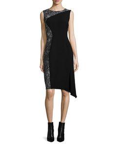 Wynn+Draped-Hem+Dress+by+Elie+Tahari+at+Neiman+Marcus.