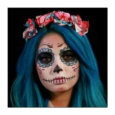 26 Maneras de transformarte en la catrina más original ❤ liked on Polyvore featuring beauty products