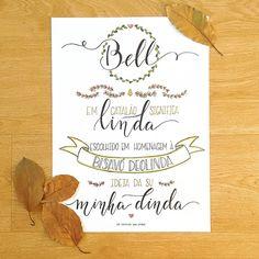 Significado do nome - Poster da Bell @nocaminhodasletras