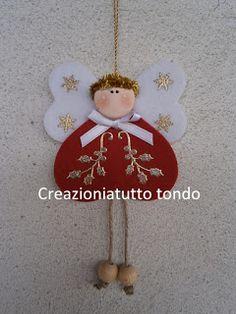 CREAZIONI A TUTTO TONDO: Angioletto Natale