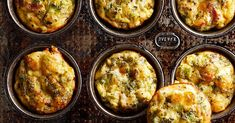 18 Muffin-Tin Eggs That Will Make Your Mornings a Breeze Breakfast Dishes, Breakfast Recipes, Breakfast Ideas, Perfect Breakfast, Figs Breakfast, Breakfast Omelette, Mexican Breakfast, Breakfast Sandwiches, Breakfast Healthy