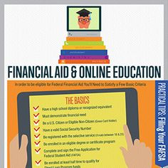 Financial Aid and Online Education  http://www.onlineschoolscenter.com/financial-aid-online-education/