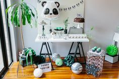 PANDA THEMED PARTY SHOOT
