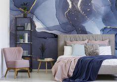 Modern Wallpaper Designs, Contemporary Wallpaper, Designer Wallpaper, Scenic Wallpaper, Bold Wallpaper, Bedroom Wallpaper, Print Wallpaper, Simple Interior, Interior Design