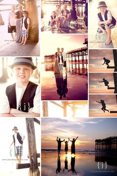 Love this set of pics on the beach!