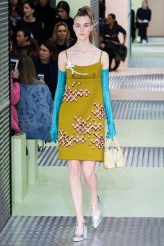 Prada Fall 2015 Dress with Embellishments as seen on Keira Knightley