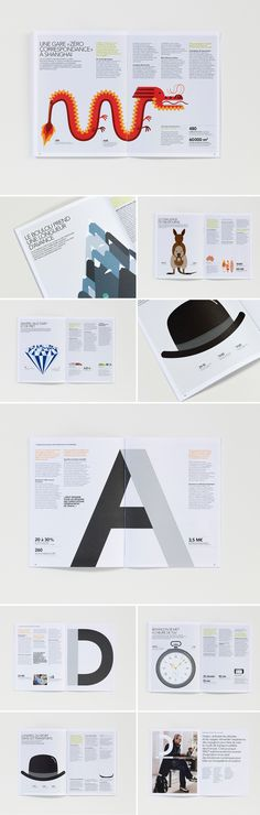 Rapport Annuel SNCF 2012 on Behance