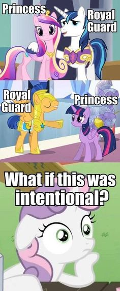 And what if.... Celestia didn't go out with Discord because he wasn't a royal guard...