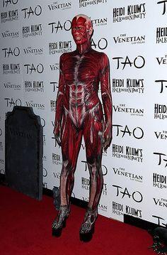 2011   Heidi Klum's Crazy Halloween Costumes Through The Years