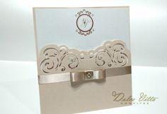 Convite de Casamento Modelo Meliss cod. 282