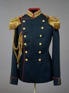 Uniform of Emperor Nicholas II in the form of an officer of the Life Guards Rifle Regiment of the Imperial family St Petersburg Russia. Military Fashion, Mens Fashion, Fashion Outfits, Military Dresses, Royal Clothing, Army Uniform, Military Uniforms, Imperial Russia, Historical Clothing