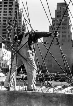 New York City construction worker, 1953.