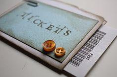 pantonejane.blogspot.com Scrapping. Birthday gift. Movie tickets