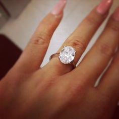 This ring is so pretty! Nice and simple! A weeeee bit big for me though...but I wouldn't complain! ;)