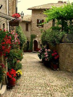 Montefalco, Umbria. Italy