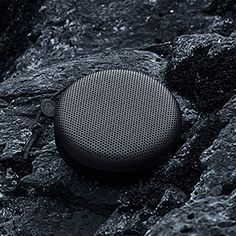Beoplay A1 - Black. Inspired by the lava stone and black sand beaches of Nordic nature. Portable, bluetooth speaker.