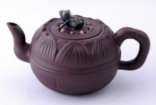 A very dear friend sent me several Yixing teapots from China---I will cherish them forever!