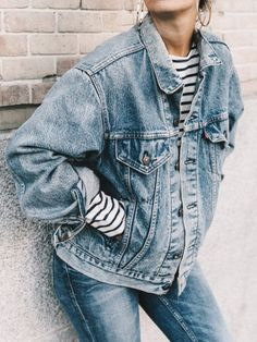 Double denim - I don't know how I feel.