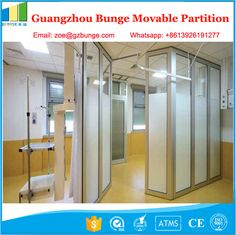 Morden Office Sliding Glass Partition Wall