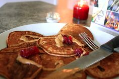 Toneitup protein pancakes using Perfect Fit protein