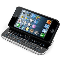 iPhone 5/5S Bluetooth Qwerty Keyboard (Stand + Removable Ultra Thin Case)