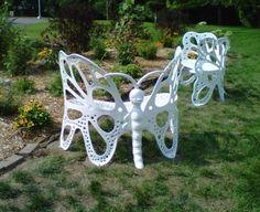 Flowerhouse Butterfly Bench