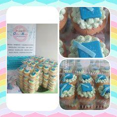 Cup cakes Graduación