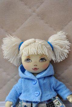 Textil-Puppe dekorative Puppe Sammler Puppen Puppe von NilaDolss