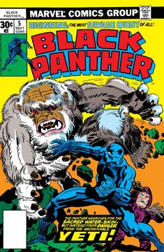 Black Panther Marvel Comics Cover by Jack Kirby Bd Comics, Marvel Comics Art, Marvel Comic Books, Comic Book Heroes, Comic Books Art, Comic Art, Marvel Room, Comic Book Artists, Comic Book Characters