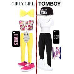 Girly Girl Vs Tomboy For My Laylahseals By Serena Blackbeauty Fashion