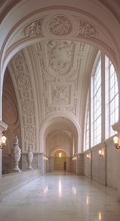 Fourth Floor of San Francisco's City Hall...gorgeous wedding venue