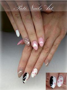 Pastelowa stylizacja wykonana produktami Gel Polish Lolita & Paradox by Parycja Zygulska,  Więcej produktów znajdziesz na www.indigo-nails.com #nailart #nails #pastel #pink #powder #grey