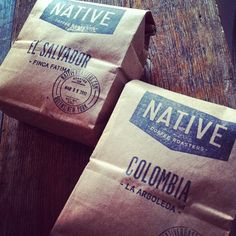 "@thequeenskickshaw's photo: ""Brand spankin new (and only) coffee roaster in Astoria, @NativeRoasters!!"""